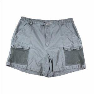 Vintage Columbia Mens XL PFG Hiking Cargo Shorts